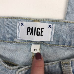 PAIGE Jeans - PAIGE Verdugo Cropped Skinny Jeans